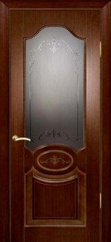 Межкомнатная дверь ТЕКОНА Мулино 04 Темный орех фото