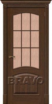 Межкомнатная дверь Вуд Классик-33 (Капри-3), Golden Oak фото