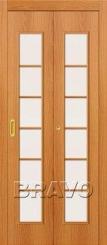Межкомнатная дверь 2С, Л-12 (МиланОрех) фото