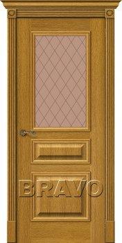 Межкомнатная дверь Вуд Классик-15.1, Natur Oak фото