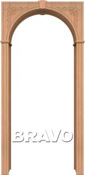 Межкомнатная дверь Муза, Ф-01 (Дуб) фото