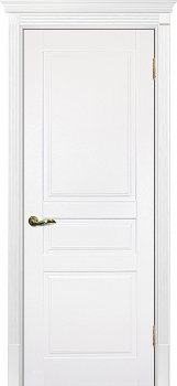 Межкомнатная дверь ТЕКОНА Смальта 01 Белый ral 9003 фото