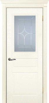 Межкомнатная дверь ТЕКОНА Смальта 01 Слоновая кость ral 1013  фото