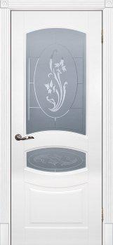 Межкомнатная дверь ТЕКОНА Смальта 02 Белый ral 9003 фото