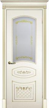 Межкомнатная дверь ТЕКОНА Смальта 05 Слоновая кость ral 1013  фото