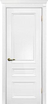 Межкомнатная дверь ТЕКОНА Смальта 06 Белый ral 9003 фото