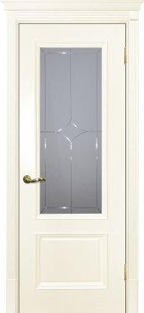 Межкомнатная дверь ТЕКОНА Смальта 07 Слоновая кость ral 1013  фото