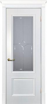 Межкомнатная дверь ТЕКОНА Смальта 07 Белый ral 9003 фото