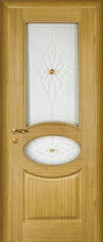 Межкомнатная дверь МАРИАМ Алекс Светлый дуб фото