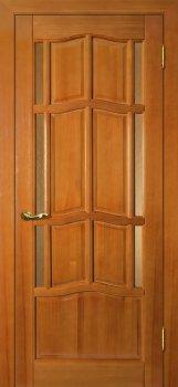 Межкомнатная дверь ДВЕРНАЯ БИРЖА Ампир ДБО Тонированная сосна фото