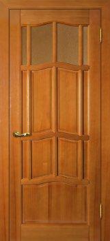 Межкомнатная дверь ДВЕРНАЯ БИРЖА Ампир ДВО Тонированная сосна фото