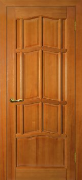 Межкомнатная дверь ДВЕРНАЯ БИРЖА Ампир ДГ Тонированная сосна фото