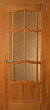 Межкомнатная дверь ДВЕРНАЯ БИРЖА Ампир ДО Тонированная сосна фото