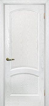 Межкомнатная дверь ТЕКОНА Вайт 01 Ясень  айсберг фото