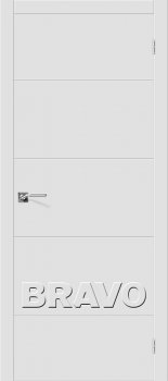 Межкомнатная дверь Скинни-2, Whitey фото