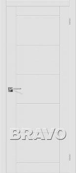 Межкомнатная дверь Скинни-4, Whitey фото