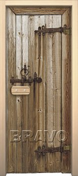 "Межкомнатная дверь Дерево, ""Glassjet"" фото"