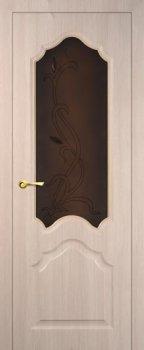 Межкомнатная дверь МАРИАМ Кардинал Капучино Мелинга фото