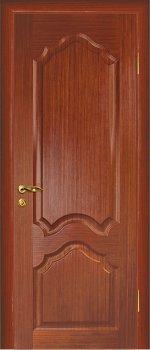 Межкомнатная дверь МАРИАМ Кардинал Красное дерево фото