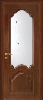 Межкомнатная дверь МАРИАМ Кардинал Темный орех фото