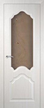 Межкомнатная дверь МАРИАМ Кардинал ЭшВайт Мелинга фото