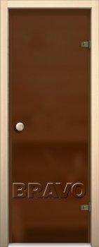 Межкомнатная дверь Кноб Е, Бронза Сатинато фото