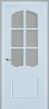 Межкомнатная дверь МАРИАМ Лидия Белый фото