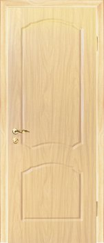 Межкомнатная дверь МАРИАМ Лидия Беленый дуб (Береза) фото