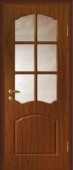Межкомнатная дверь МАРИАМ Лидия Итальянский орех фото