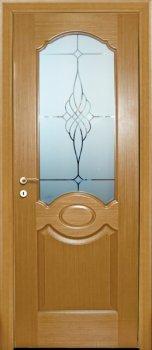 Межкомнатная дверь МАРИАМ Милано Светлый дуб фото