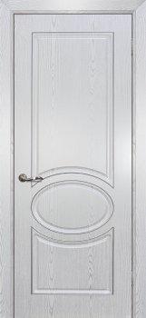 Межкомнатная дверь МАРИАМ Сиена-1 патина Белый  серебро фото