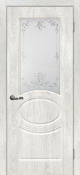 Межкомнатная дверь МАРИАМ Сиена-1 Дуб жемчужный фото