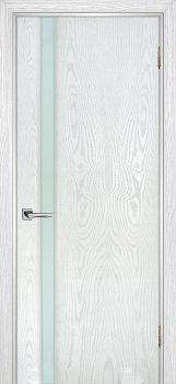 Межкомнатная дверь ТЕКОНА Страто 01 Ясень  айсберг фото