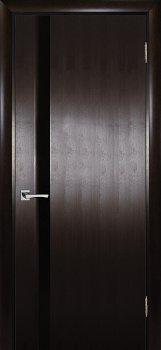 Межкомнатная дверь ТЕКОНА Страто 01 Тонированный черный дуб фото