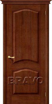 Межкомнатная дверь М7, Т-06 (Темный Лак) фото
