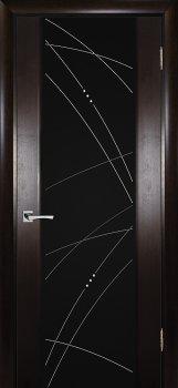 Межкомнатная дверь ТЕКОНА Страто 02 Тонированный черный дуб фото