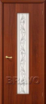 Межкомнатная дверь 24Х, Л-11 (ИталОрех) фото