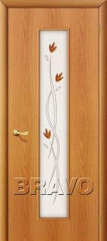 Межкомнатная дверь 22Х, Л-12 (МиланОрех) фото