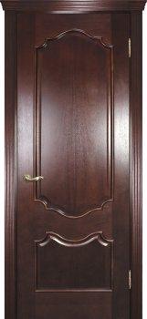 Межкомнатная дверь ТЕКОНА Фрейм 01 Красное дерево фото