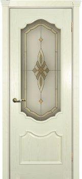 Межкомнатная дверь ТЕКОНА Фрейм 01 Ясень Бисквит фото