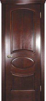 Межкомнатная дверь ТЕКОНА Фрейм 04 Красное дерево фото