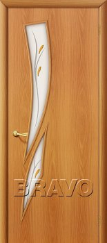 Межкомнатная дверь 8Ф, Л-12 (МиланОрех) фото