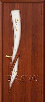 Межкомнатная дверь 8Ф, Л-11 (ИталОрех) фото