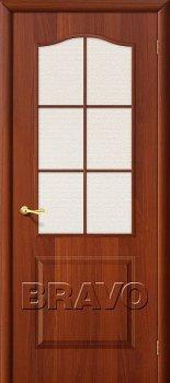 Межкомнатная дверь Палитра, Л-11 (ИталОрех) фото