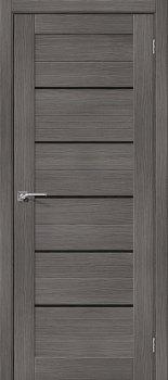 Межкомнатная дверь Порта-22, Grey Veralinga/Black Star фото