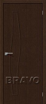 Межкомнатная дверь Мастер-7, 3D Wenge фото