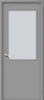 Межкомнатная дверь Гост ПО-2, Л-16 (Серый) фото