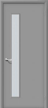 Межкомнатная дверь Гост ПО-1, Л-16 (Серый) фото