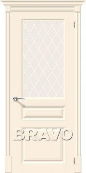 Межкомнатная дверь Скинни-15.1, Cream фото