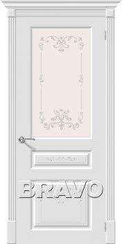 Межкомнатная дверь Скинни-15.1 Аrt, Whitey фото